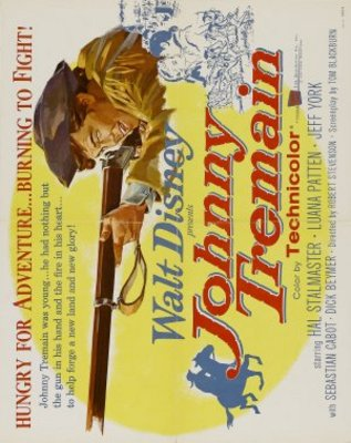 Johnny Tremain movie poster (1957) poster MOV_f78a84fa
