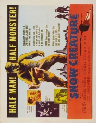 The Snow Creature movie poster (1954) poster MOV_f7ad4c22