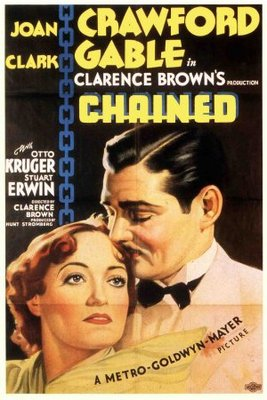 Chained movie poster (1934) poster MOV_f7b042d5
