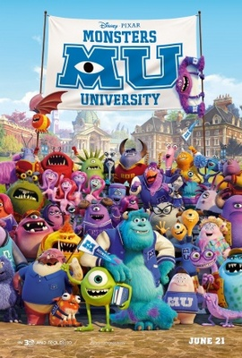Monsters University movie poster (2013) poster MOV_f7c80692