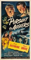 Pursuit to Algiers movie poster (1945) picture MOV_71df967e