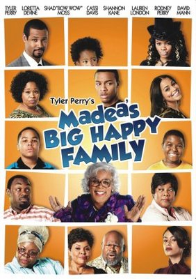 Madea's Big Happy Family movie poster (2011) poster MOV_f7d64007