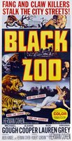 Black Zoo movie poster (1963) picture MOV_f7f11eda