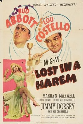 Lost in a Harem movie poster (1944) poster MOV_f80136cf
