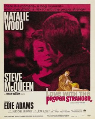 Love with the Proper Stranger movie poster (1963) poster MOV_f8015184