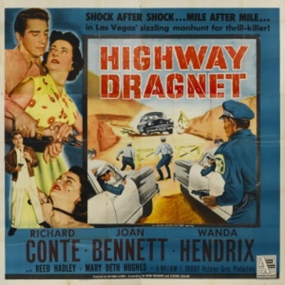Highway Dragnet movie poster (1954) poster MOV_f804bfde