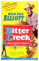 Bitter Creek movie poster (1954) picture MOV_f8224f30
