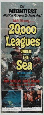 20000 Leagues Under the Sea movie poster (1954) poster MOV_f8330b91
