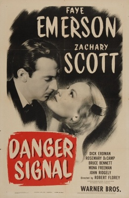 Danger Signal movie poster (1945) poster MOV_f83a6fae