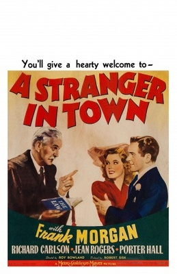 A Stranger in Town movie poster (1943) poster MOV_f83eb57a