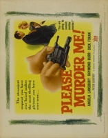 Please Murder Me movie poster (1956) picture MOV_f846a843