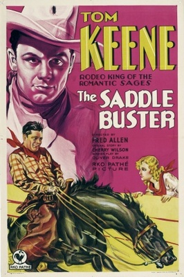 The Saddle Buster movie poster (1932) poster MOV_f857acf7
