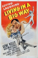 Living in a Big Way movie poster (1947) picture MOV_f858927f