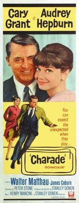 Charade movie poster (1963) poster MOV_f858f651
