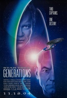 Star Trek: Generations movie poster (1994) picture MOV_f8683711