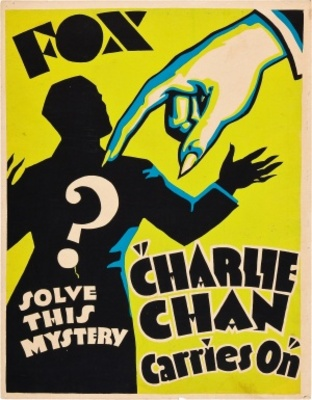 Charlie Chan Carries On movie poster (1931) poster MOV_f882150e