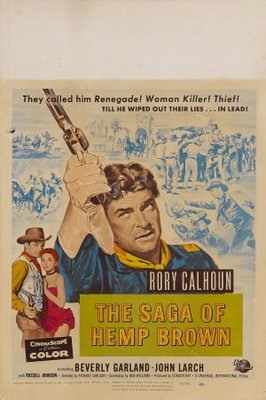 The Saga of Hemp Brown movie poster (1958) poster MOV_f88bf7e5