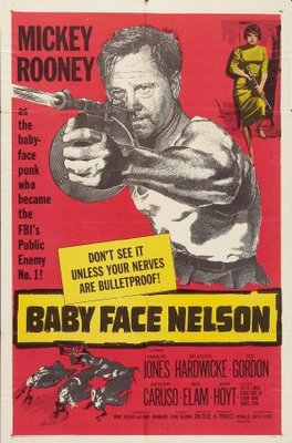Baby Face Nelson movie poster (1957) poster MOV_f88e9771
