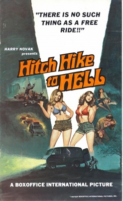Hitch Hike to Hell movie poster (1977) poster MOV_f8a0b33a