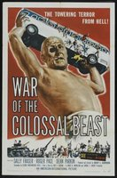 War of the Colossal Beast movie poster (1958) picture MOV_f8a968d7