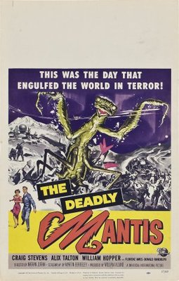 The Deadly Mantis movie poster (1957) poster MOV_f8abbd54
