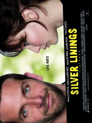 Silver Linings Playbook movie poster (2012) poster MOV_f8c56ae6
