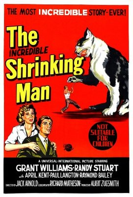 The Incredible Shrinking Man movie poster (1957) poster MOV_f8d5973c