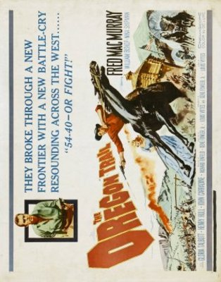 The Oregon Trail movie poster (1959) poster MOV_f8e21343