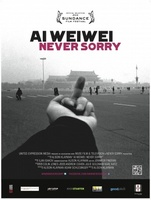 Ai Weiwei: Never Sorry movie poster (2012) picture MOV_f8e41a06