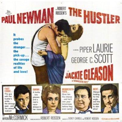 The hustler movie poster