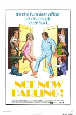 Not Now Darling movie poster (1973) poster MOV_f8ec532f