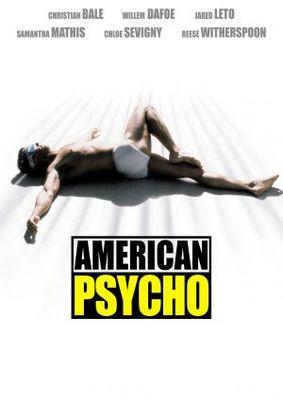 American Psycho movie poster (2000) poster MOV_f8f4eb6c