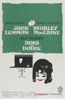 Irma la Douce movie poster (1963) poster MOV_f8f8ef3c