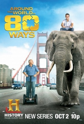 Around the World in 80 Ways movie poster (2011) poster MOV_f905eb6d