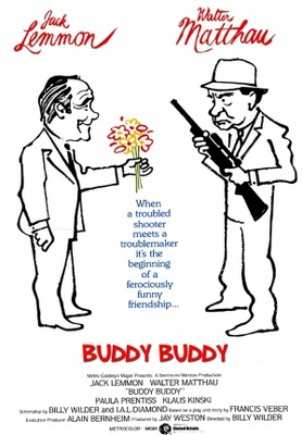 Buddy Buddy movie poster (1981) poster MOV_f90b941b