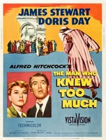 The Man Who Knew Too Much movie poster (1956) picture MOV_f90d6b62