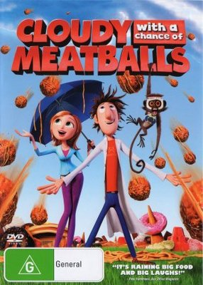 Cloudy with a Chance of Meatballs movie poster (2009) poster MOV_f918474e