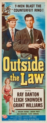 Outside the Law movie poster (1956) poster MOV_f9258051