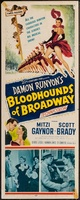 Bloodhounds of Broadway movie poster (1952) picture MOV_f92d9128