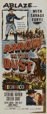 Arrow in the Dust movie poster (1954) poster MOV_f9355638