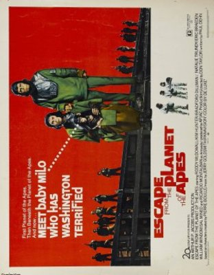Escape from the Planet of the Apes movie poster (1971) poster MOV_f936d1ba