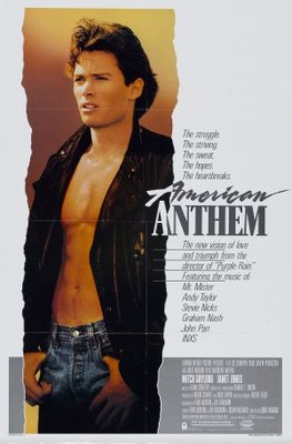 American Anthem movie poster (1986) poster MOV_f939195a