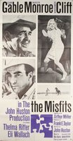 The Misfits movie poster (1961) picture MOV_f93f8983