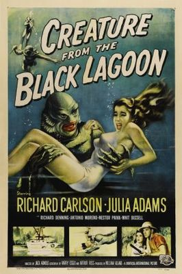 Creature from the Black Lagoon movie poster (1954) poster MOV_f9429214