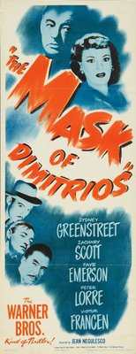The Mask of Dimitrios movie poster (1944) poster MOV_f9436ce2