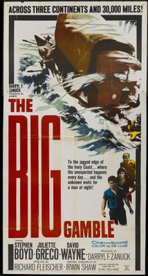 The Big Gamble movie poster (1961) poster MOV_f94f459c