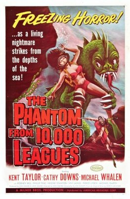 The Phantom from 10,000 Leagues movie poster (1955) poster MOV_f9582c7b