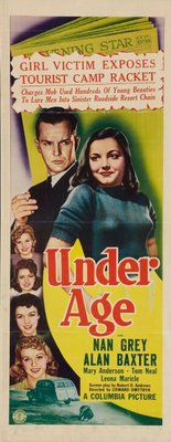 Under Age movie poster (1941) poster MOV_f95a70d4
