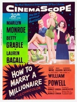 How to Marry a Millionaire movie poster (1953) picture MOV_f95dfc73
