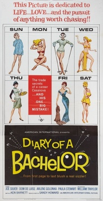 Diary of a Bachelor movie poster (1964) poster MOV_f9707bb1